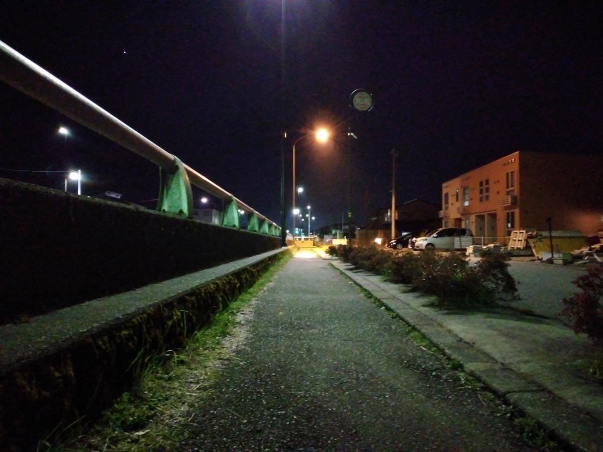 Libero S10の夜間撮影