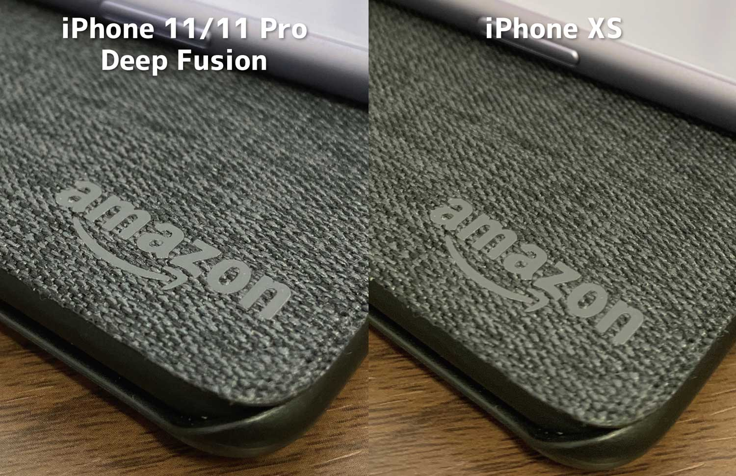 iPhone 11 ProはDeep Fusionで解像感が高い