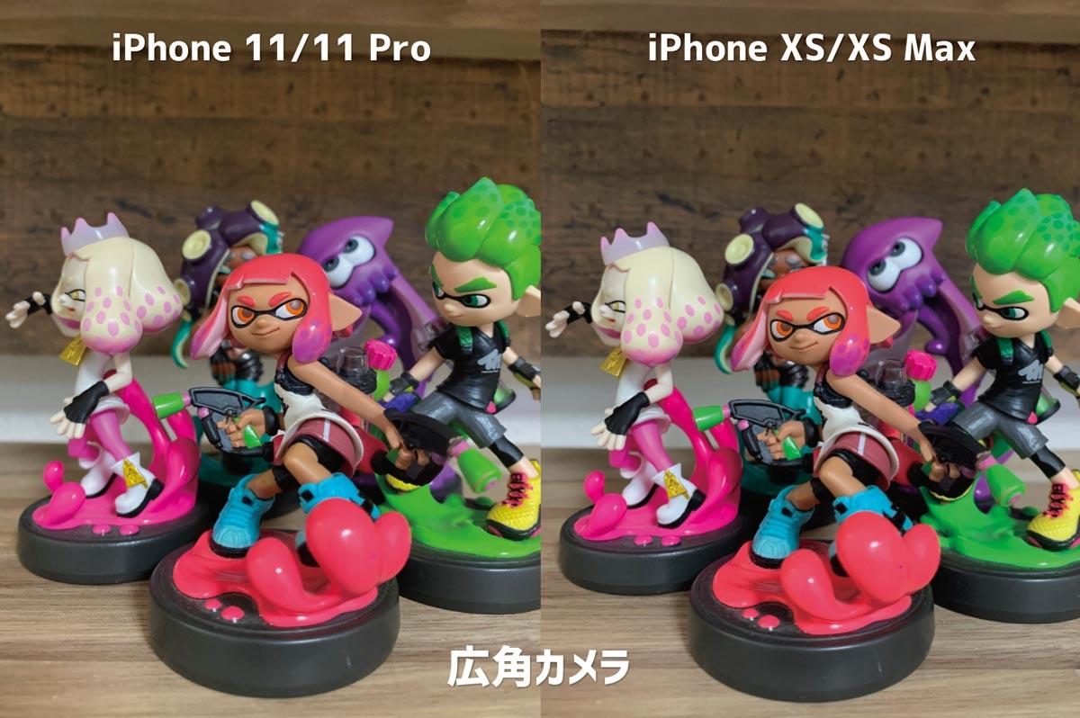 iPhone 11 Pro・XS 広角カメラの画質