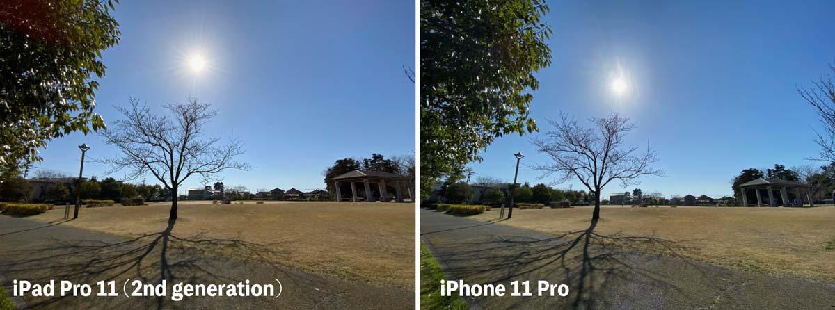 超広角カメラ 1000万画素と1200万画素の違い比較
