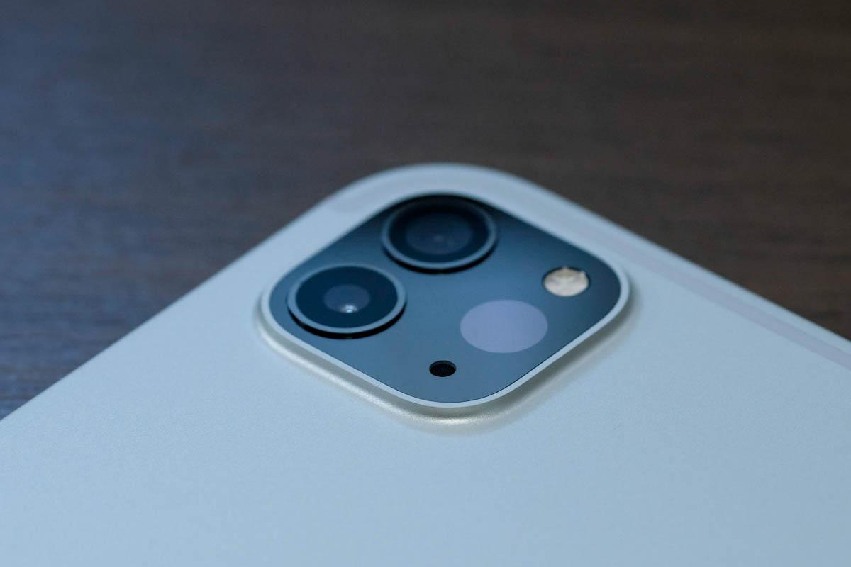iPad Pro 11インチ(第2世代)のリアカメラ