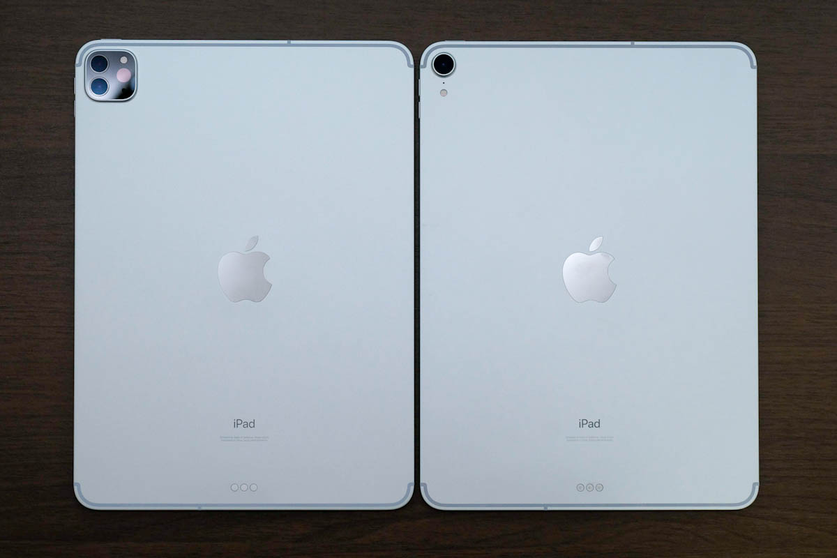 iPad Pro 11インチ 第2世代と第1世代