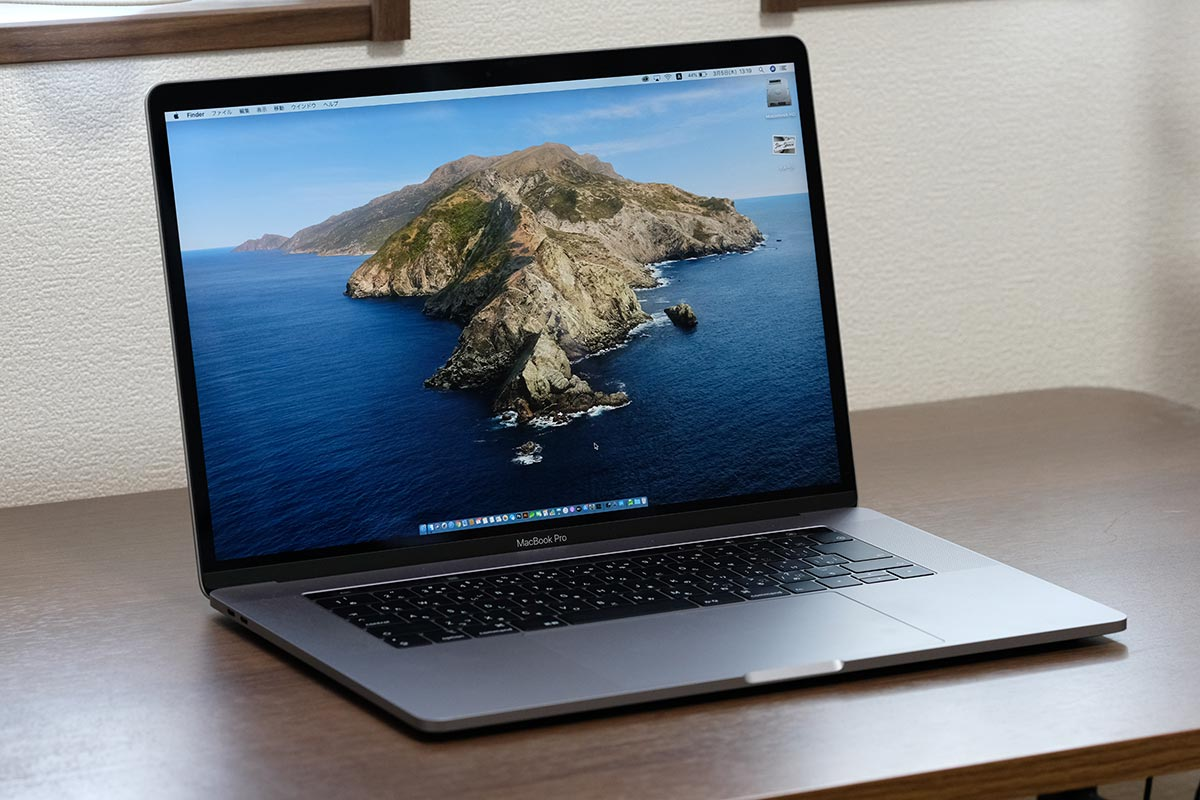 MacBook Pro 15インチ(2019)