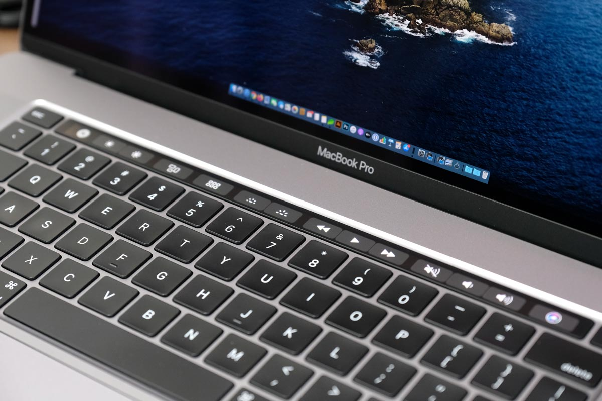 MacBook ProのTouch Bar