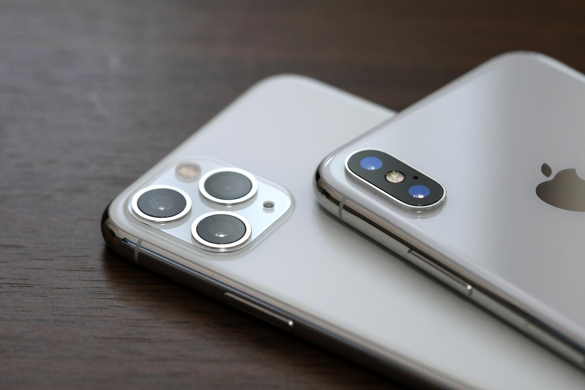 iPhone 11 ProとiPhone XS リアカメラ