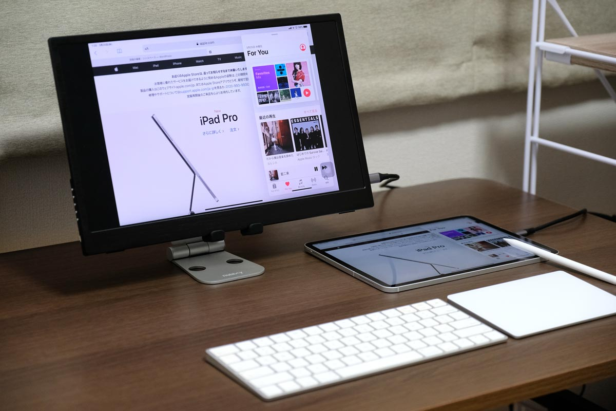 デスクトップ型iPad