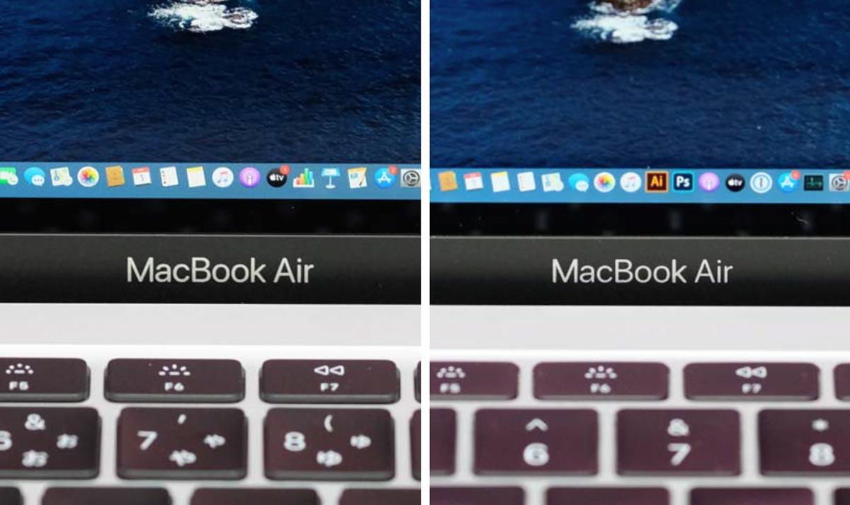 MacBook Airのロゴ書体