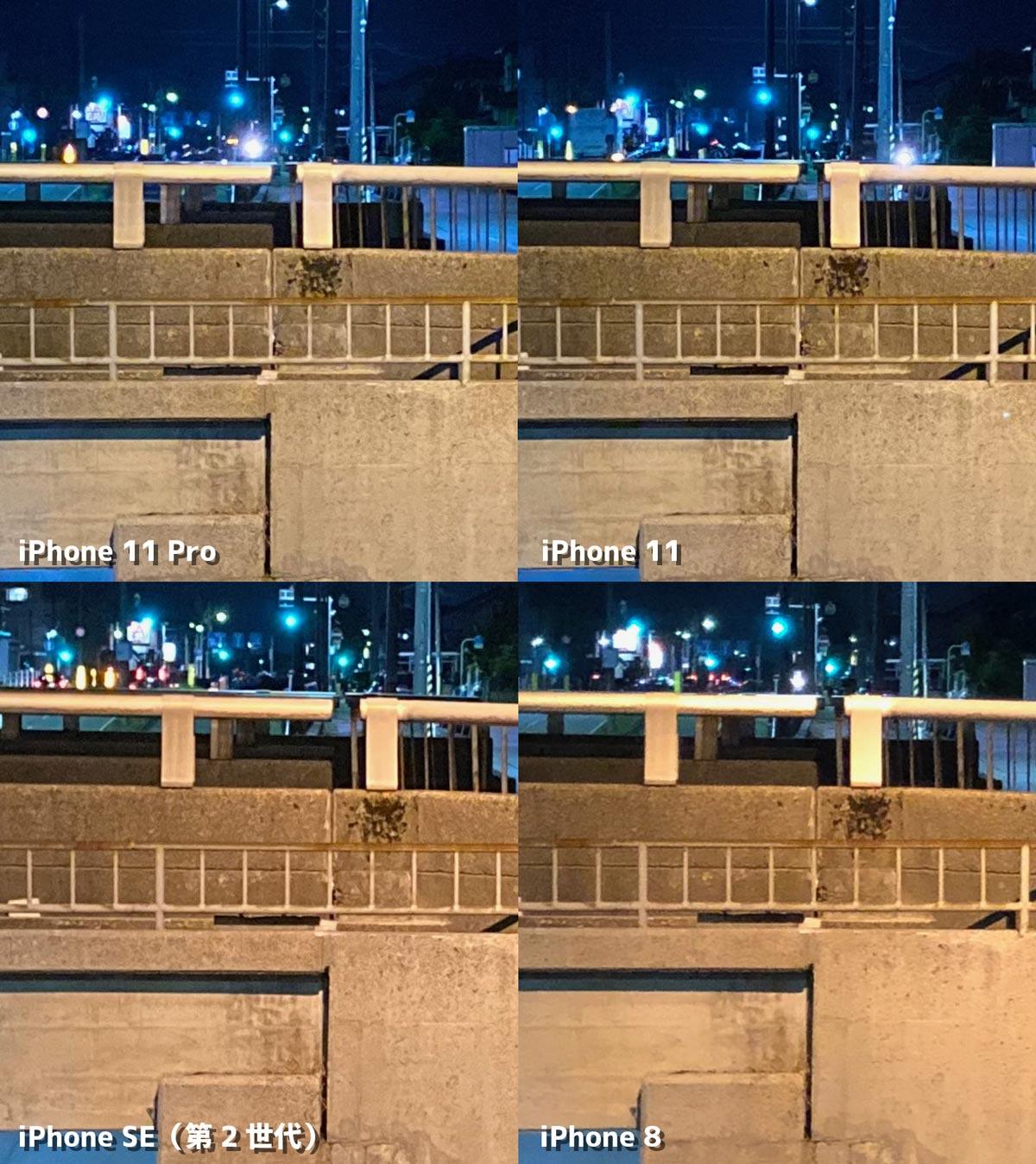 夜間撮影の拡大