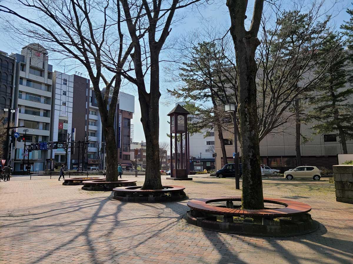 Galaxy S20 5G 広角カメラ 香林坊の広場