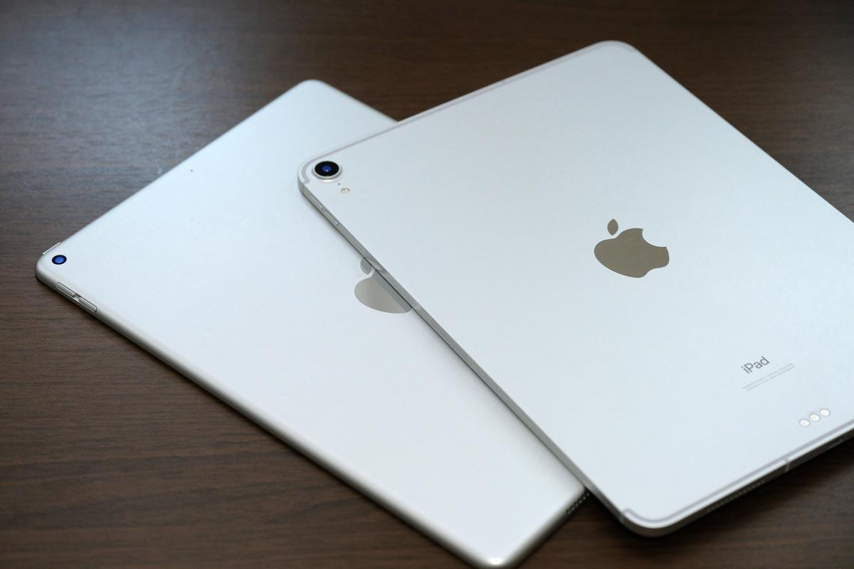 iPad AirとiPad Pro 11インチ