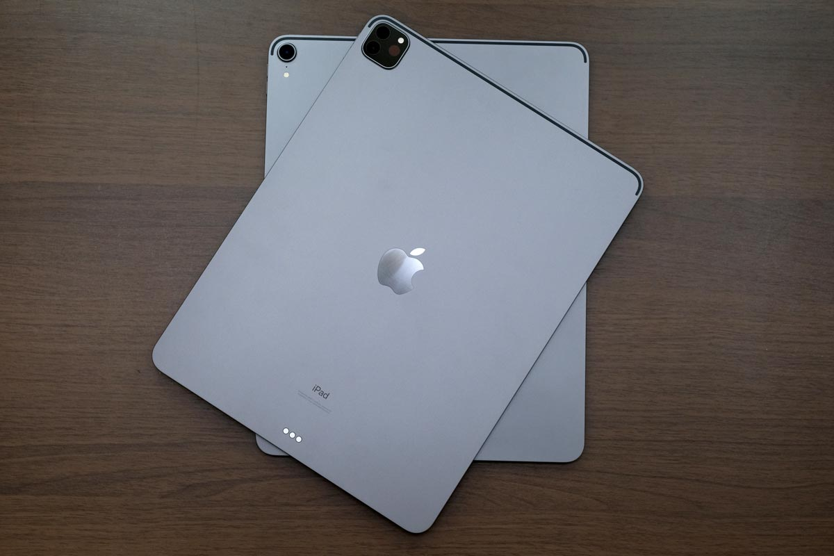iPad Pro 12.9インチ(第4世代)と(第3世代)