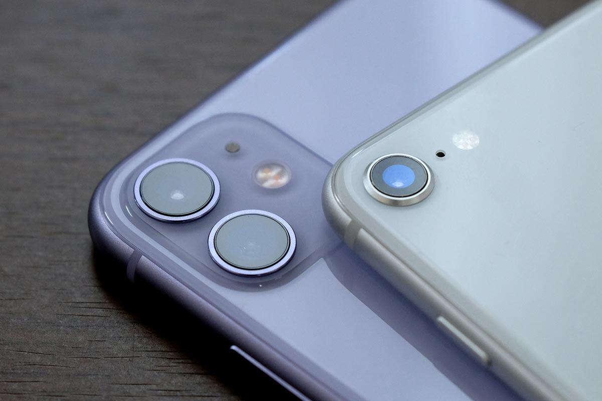 デュアルカメラとシングルカメラ