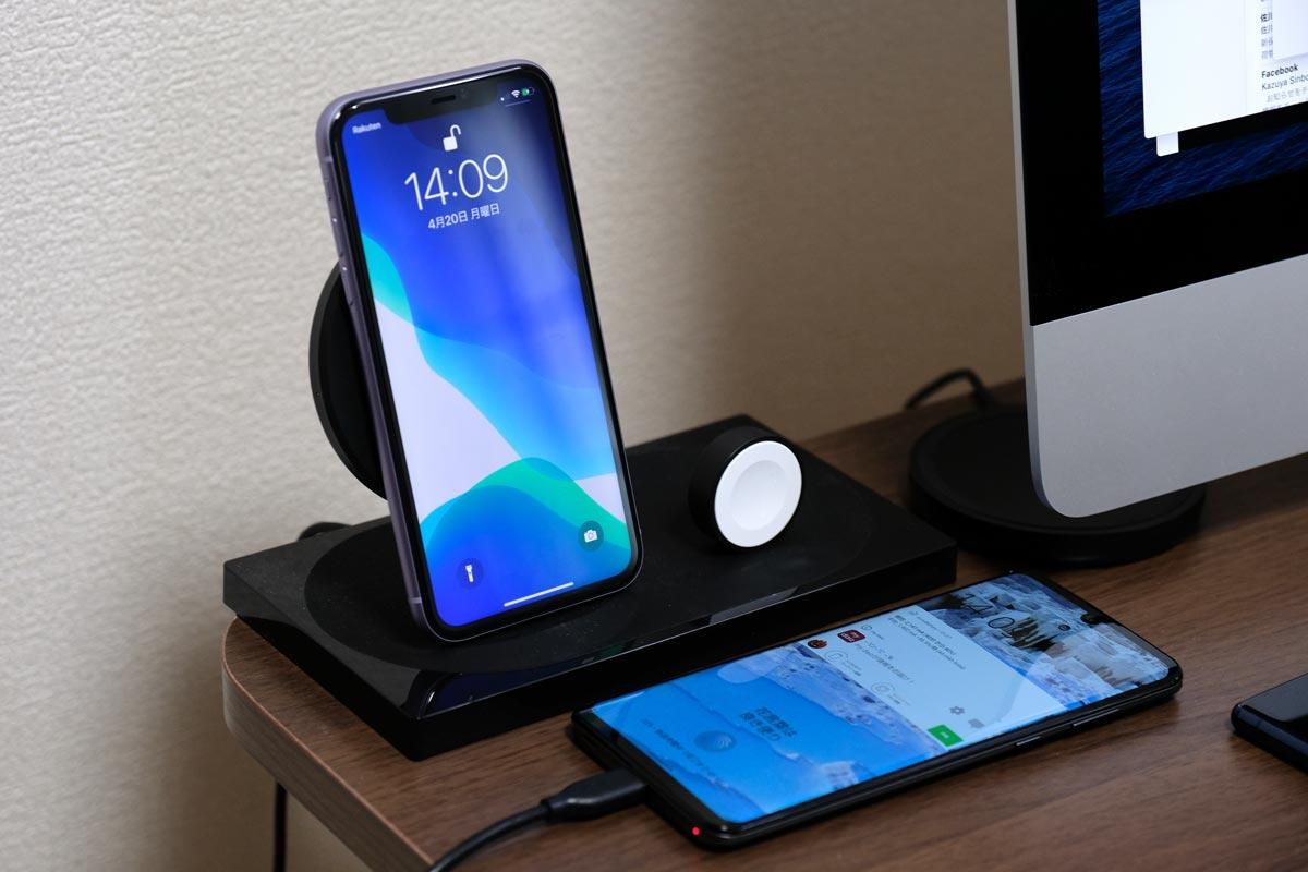iPhone 11はワイヤレス充電に対応