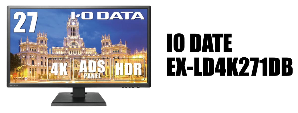 IO DATE EX-LD4K271DB