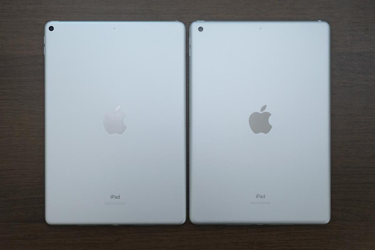 iPad Air3とiPad(第8世代)のリアパネル