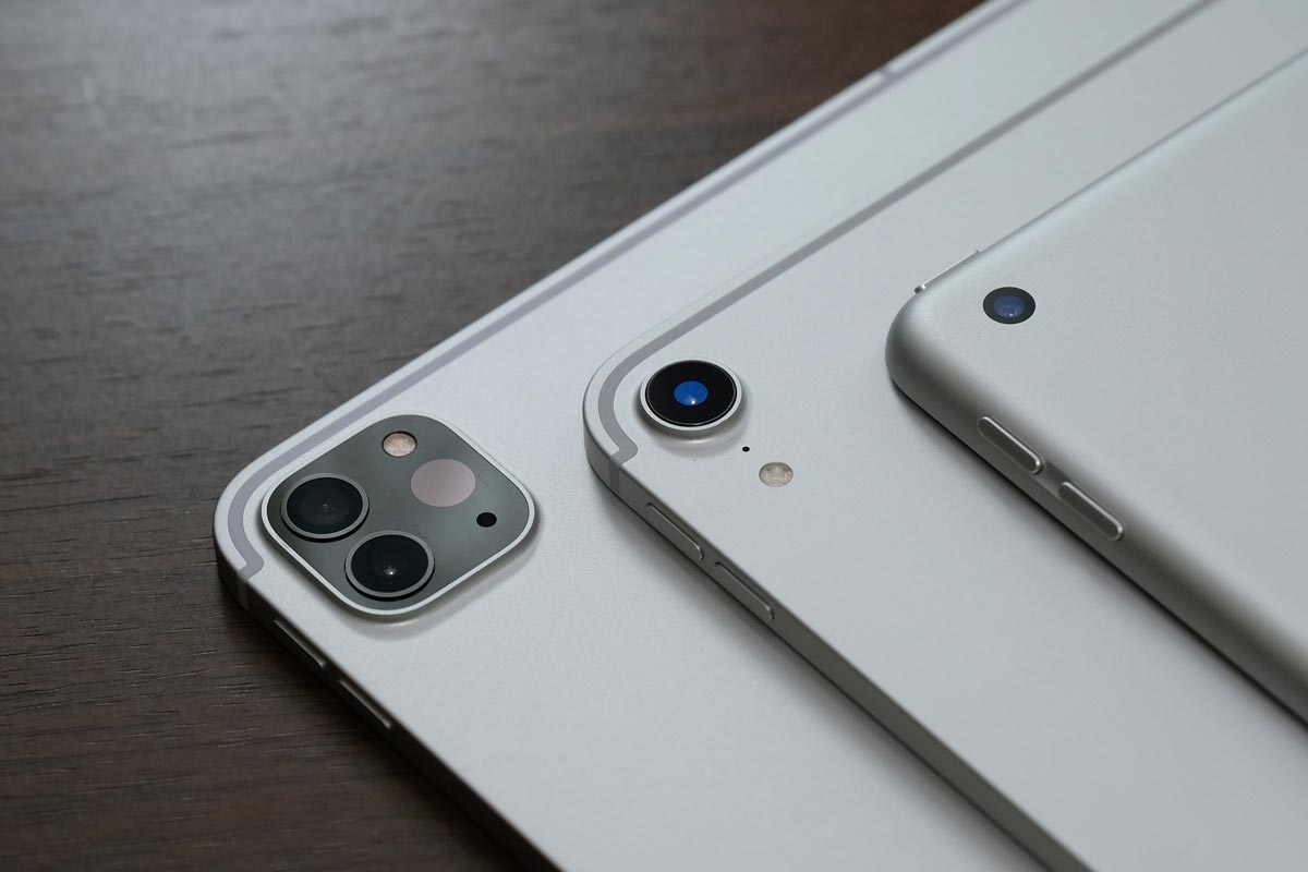 iPad ProとiPadのリアカメラ