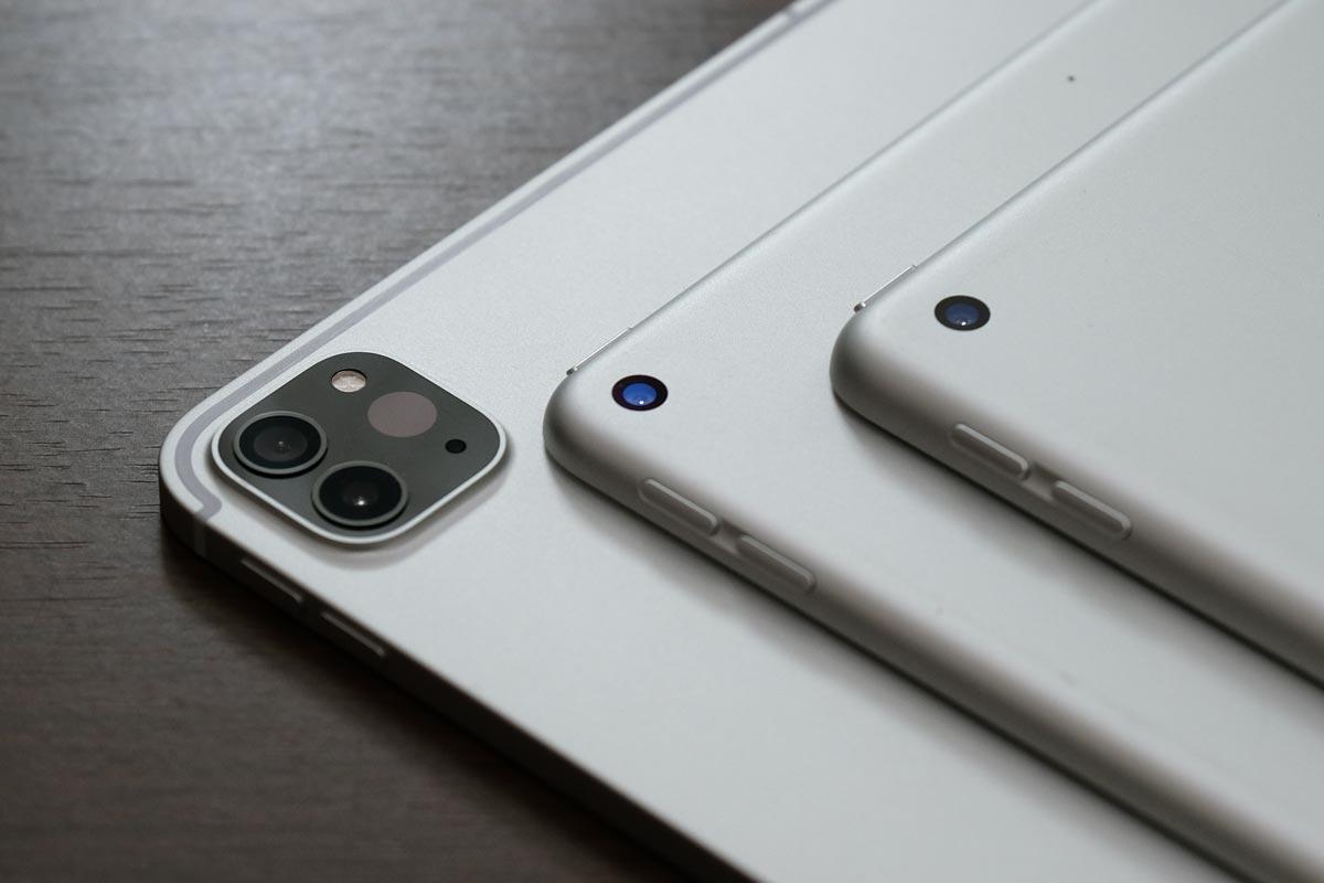 iPad Pro・iPad Air・iPadのリアカメラ