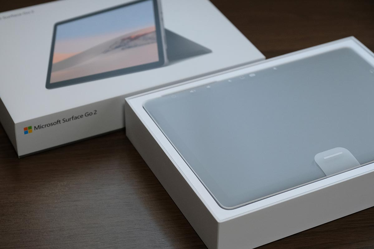 Surface Go2 パッケージ
