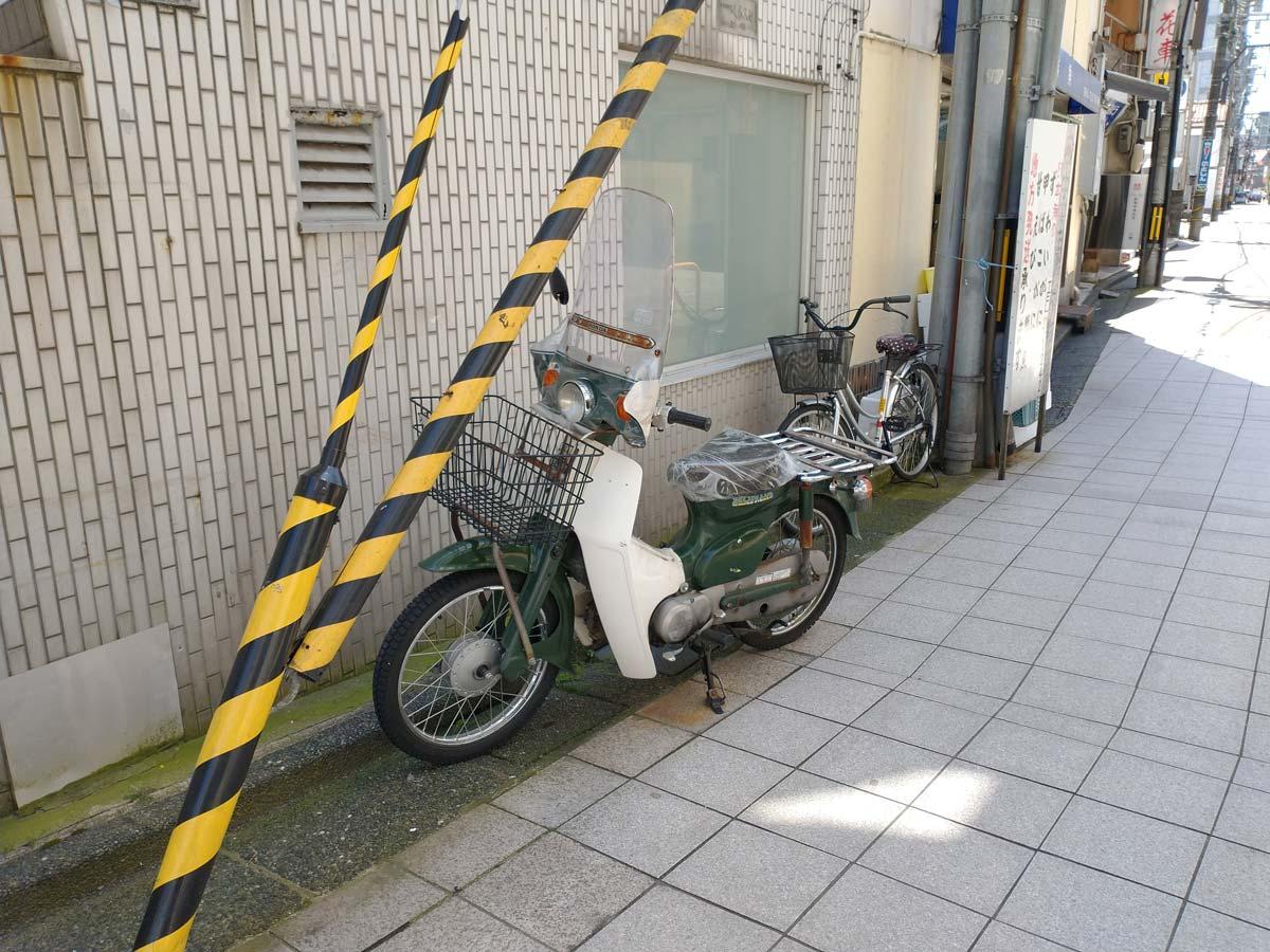 moto g8 広角カメラで撮影