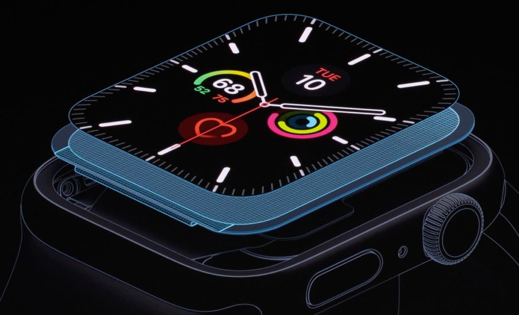 Apple Watch 5のLTPO OLED