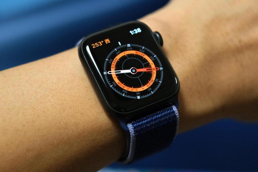 Apple Watch 5はコンパスに対応