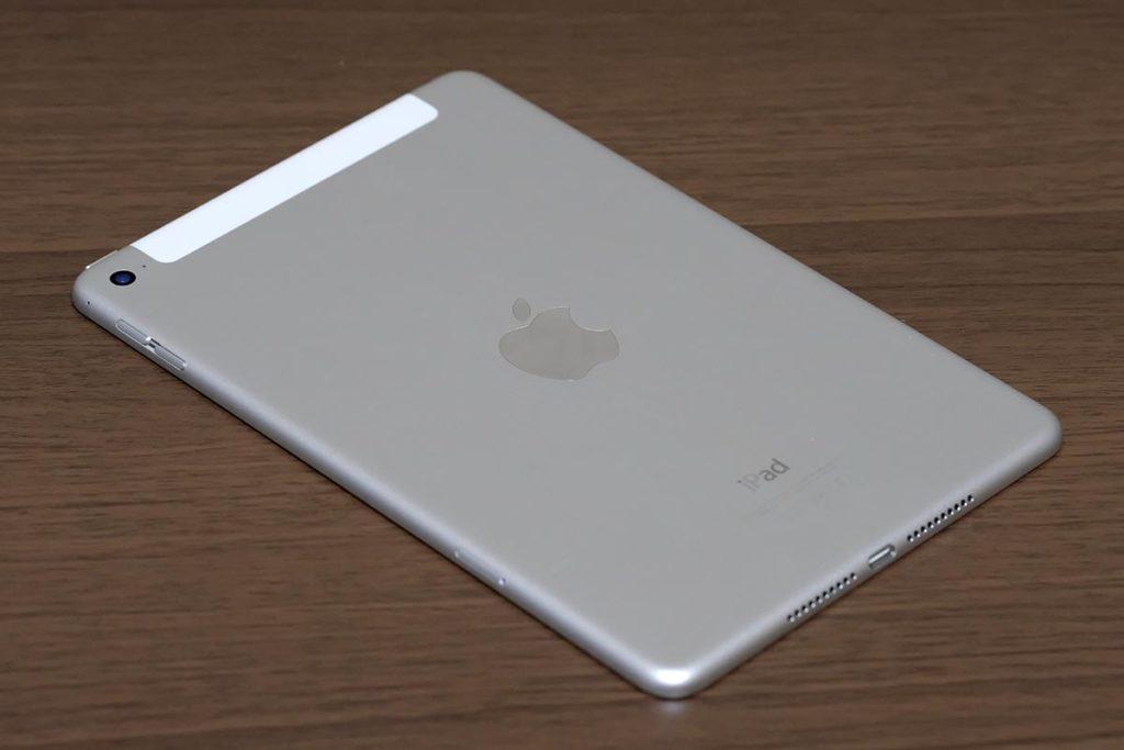 iPad mini 4の背面デザイン