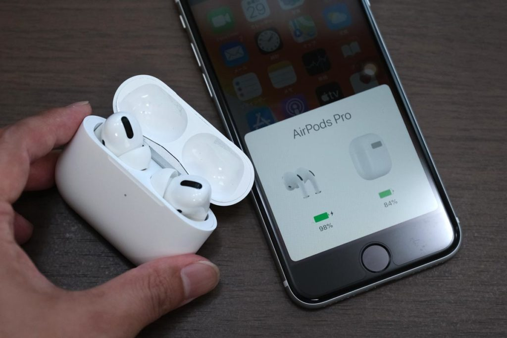 AirPods Proをペアリング