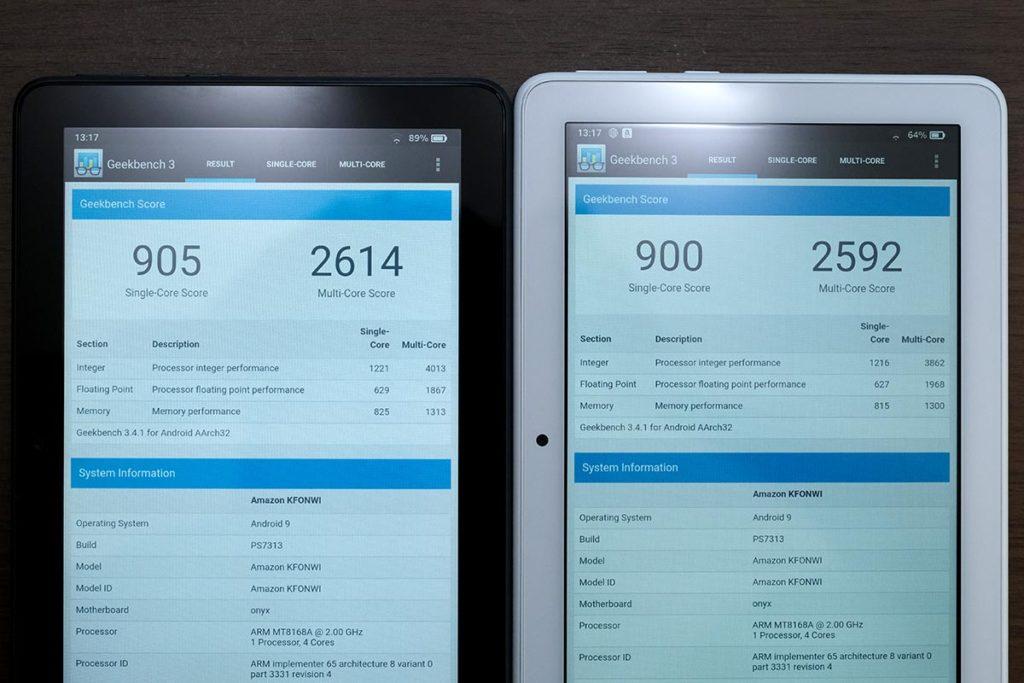 CPUの性能比較