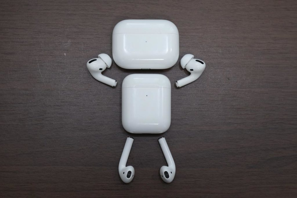 AirPods ロボ
