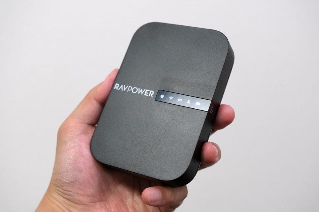FileHub RP-WD009のサイズ感