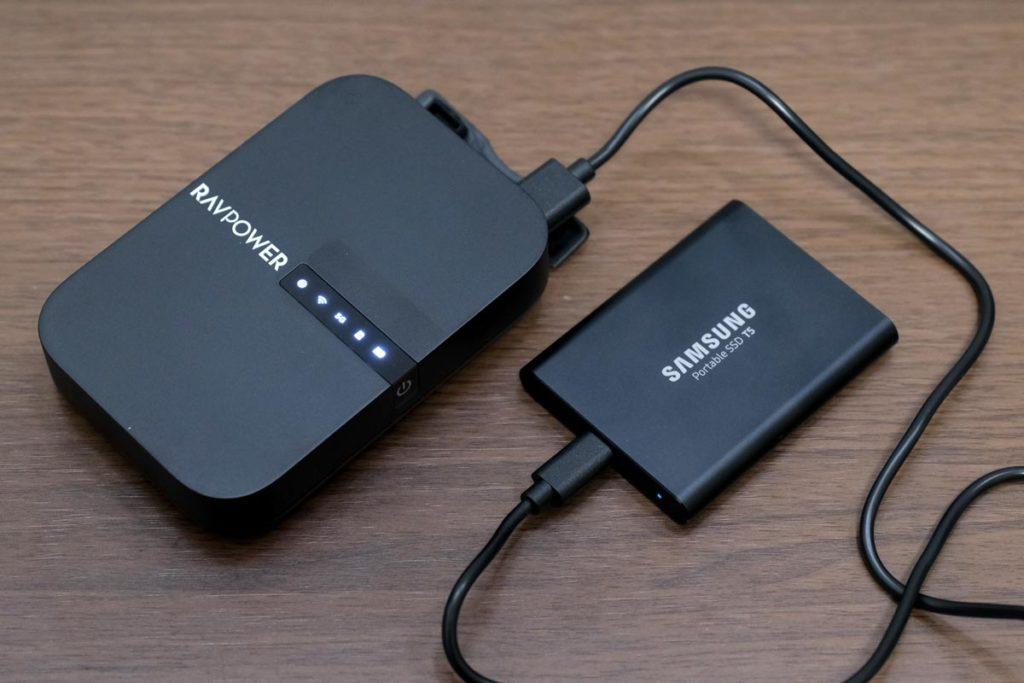 SSDストレージを接続