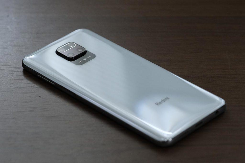 Redmi Note 9S 背面デザイン