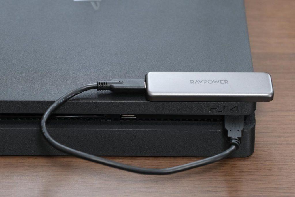 PS4の外付けSSDとして