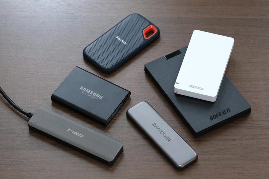 SSDストレージの種類