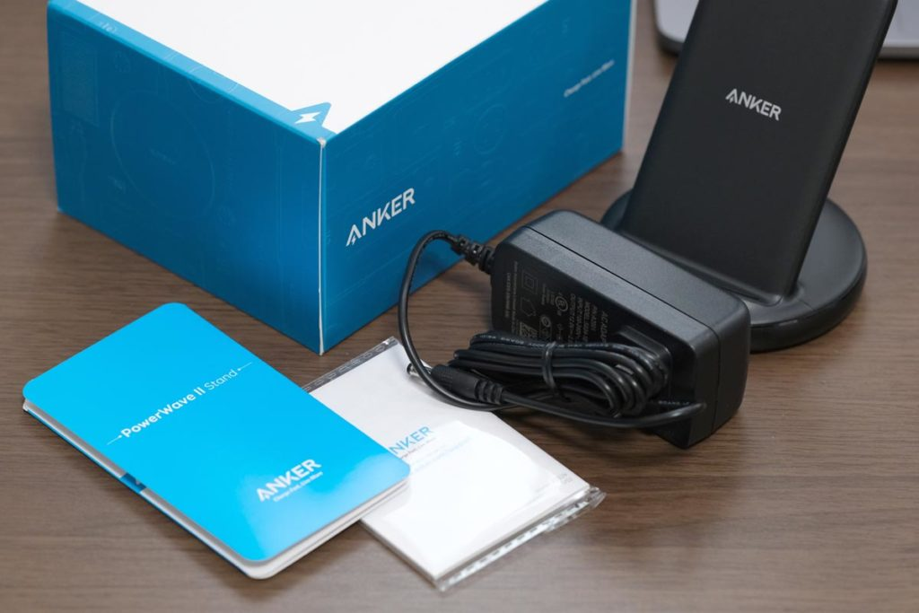 Anker PowerWave Ⅱ Standの付属品