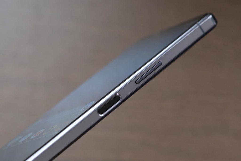 Xperia 1 Ⅱの指紋センサー