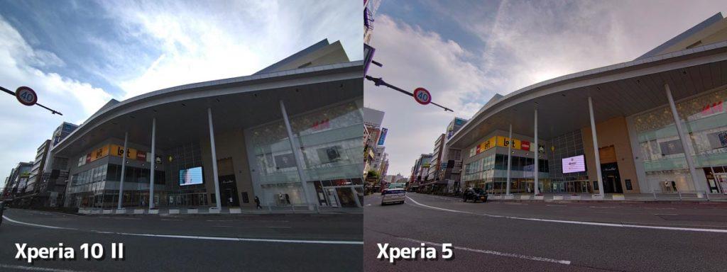 超広角カメラの画質を比較