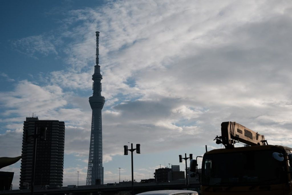 X-T3 + XF16-80mmF4で東京スカイツリーを撮影