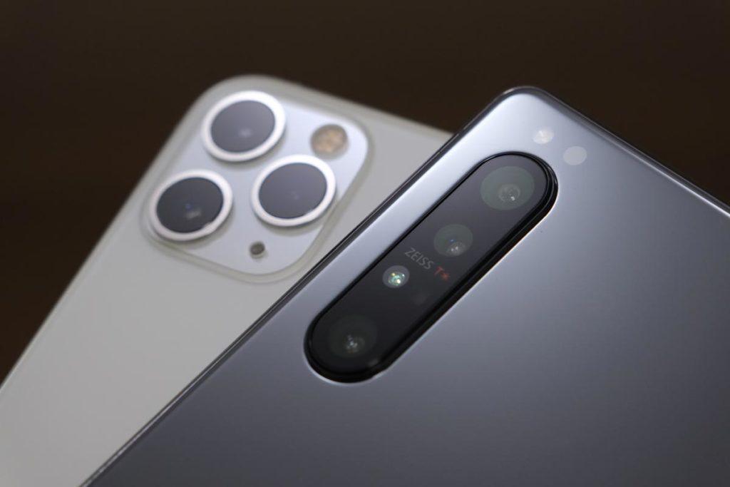 iPhone 11 ProとXperia 1 Ⅱ
