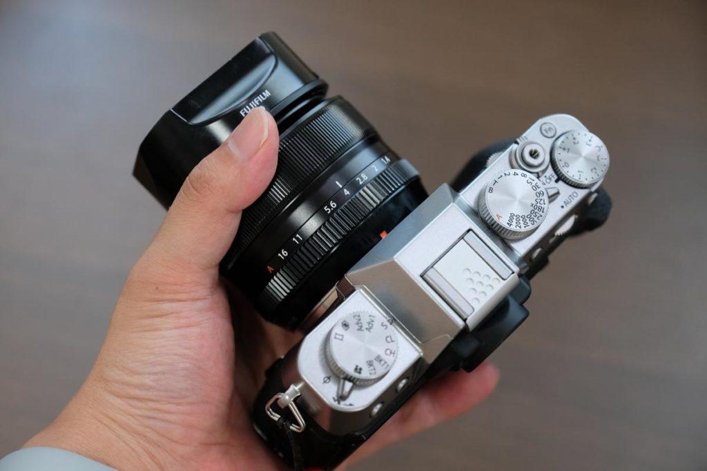 XF35mmF1.4 R + X-T30の組み合わせ