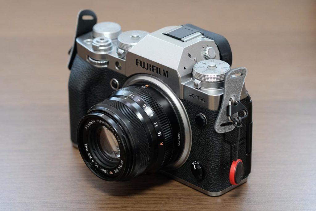 XF35mmF2 R WR + X-T4