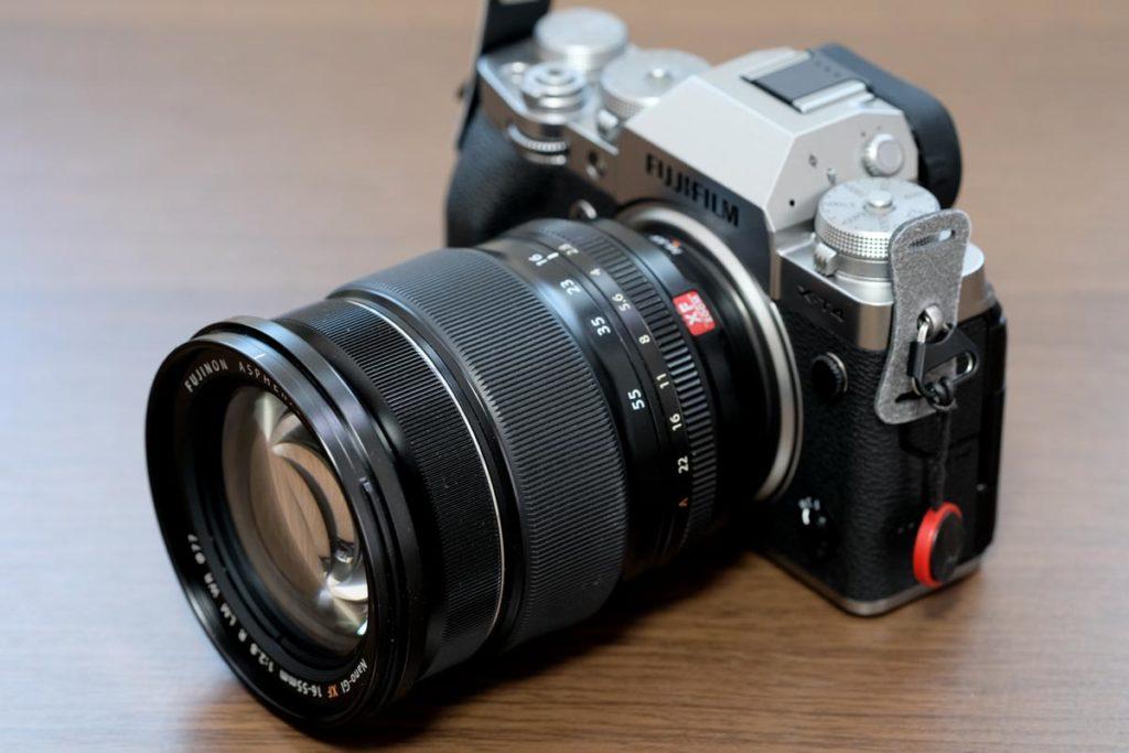 X-T4とXF16-55mmF2.8 R LM WR