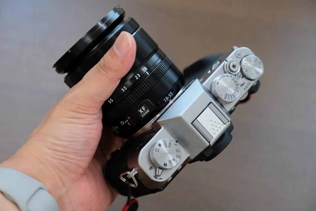 X-T30 + XF18-55mmの組み合わせ