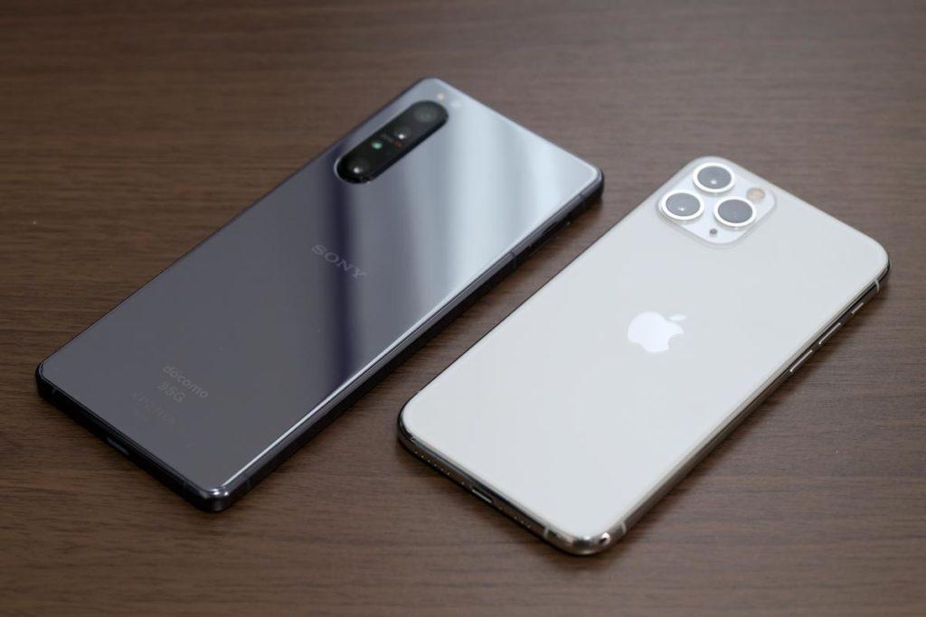 Xperia 1 ⅡとiPhone 11 Pro
