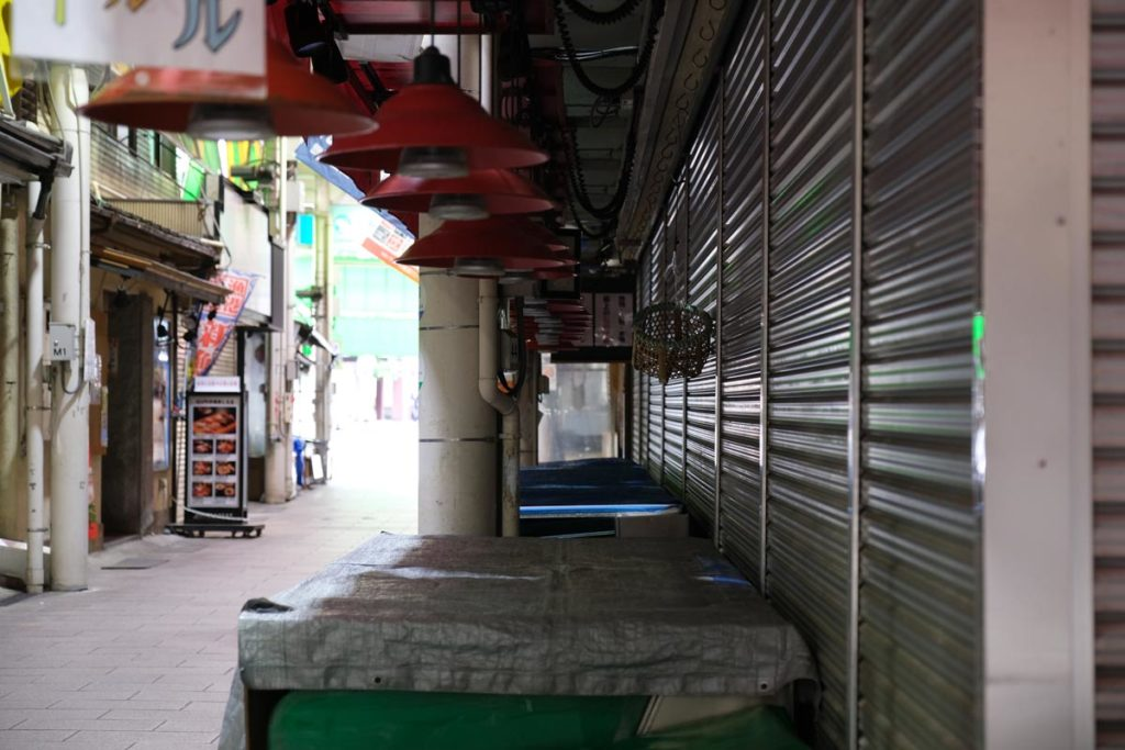 X-T4 + XF16-55F2.8で近江町市場を撮影