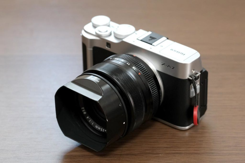 XF35mmF1.4 R +X-A7の組み合わせ