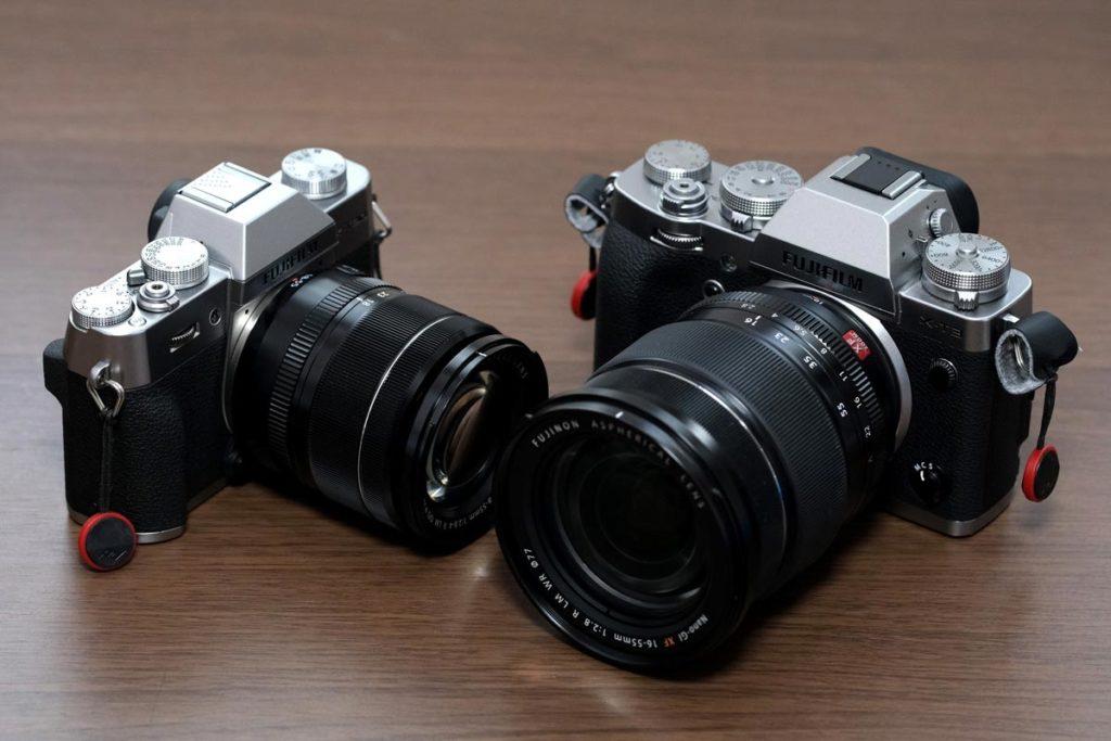 XF18-55mm・XF16-55とカメラの相性