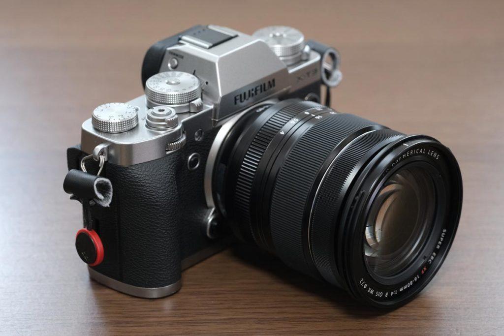 X-T3 + XF16-80mmF4の組み合わせ