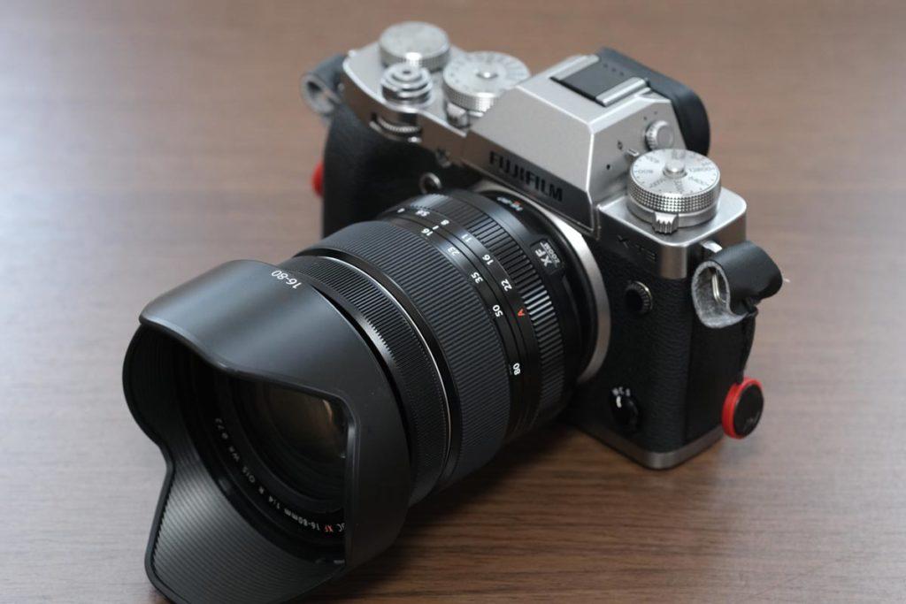XF16-80mmF4 花形フード