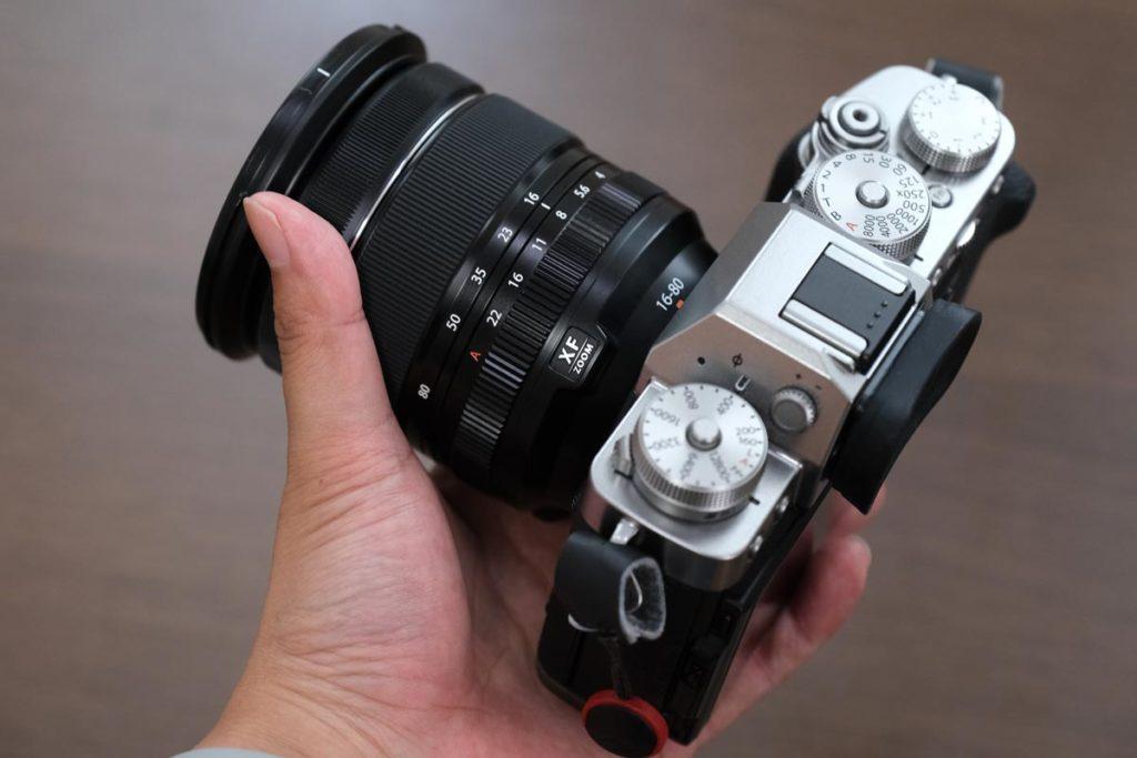 X-T30 + XF16-80mmF4の組み合わせ